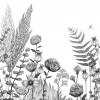 papier peint Panoramique ECLOSION par Casamance