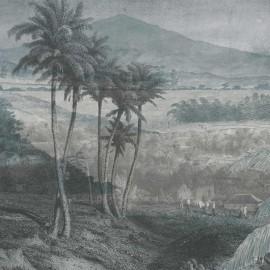 Panoramique PAYSAGE LOINTAIN de Quinsaï