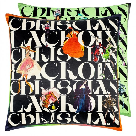 COUSSIN LACROIX PARADE JAIS 55 x 55 cm Christian Lacroix