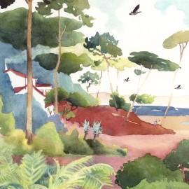 Papier peint Panoramique FORÊT par Isidore Leroy