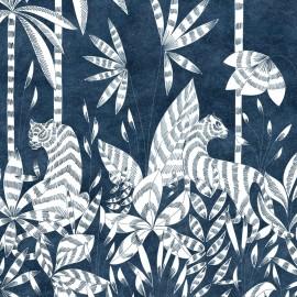 Papier peint Panoramique PARADIS DES TIGRES par Isidore Leroy