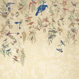 Papier peint Panoramique La volière par Quinsaï