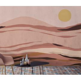Papier Peint Panoramique paysage Sunset de la collection Poème de l'éditeurs Tenue de Ville