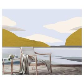 Papier Peint Panoramique paysage Breizh de la collection Poème de l'éditeurs Tenue de Ville