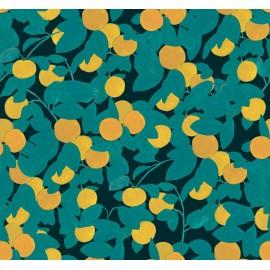 Papier peint Panoramique floral vintage Georgette par Tenue de Ville