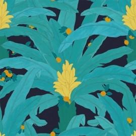 Papier peint Panoramique floral et exotique Armand par Tenue de Ville
