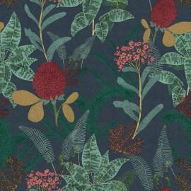 Papier peint Panoramique floral et organique Palmarosa de la collection Spice par Tenue de Ville