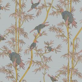 Papier peint Panoramique animal et organique Ylang Ylang de la collection Spice par Tenue de Ville