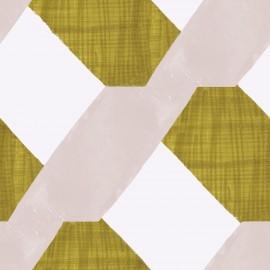 Papier peint Panoramique géométrique vintage Saro de la collection Spice par Tenue de Ville