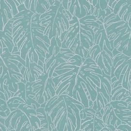 Papier peint floral, organique et vintage Monoï de la collection Spice par Tenue de Ville