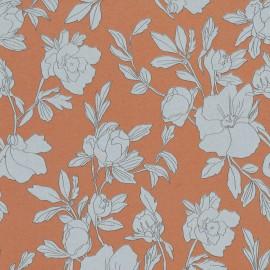 Papier peint floral, organique Borage de la collection Spice par Tenue de Ville