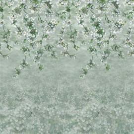 Papier peint Panoramique ASSAM BLOSSOM de la collection PAPIERS PEINTS SCENES & MURALS II par Designers Guild