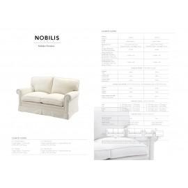 Mobilier Canapé CHOPIN deux places et trois places par Nobilis