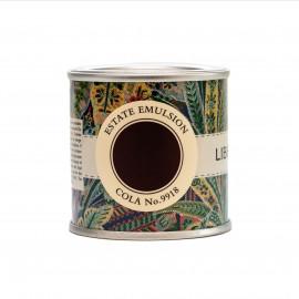 Peinture marron Cola No 9918 Farrow & Ball Collection Liberty couleur archivée
