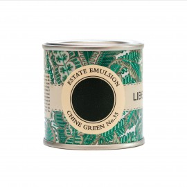 Peinture verte Chine Green No 35 Farrow & Ball Collection Liberty couleur archivée
