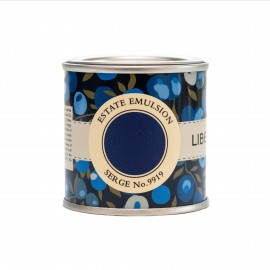 Peinture bleu foncé Serge No 9919 Farrow & Ball Collection Liberty couleur archivée