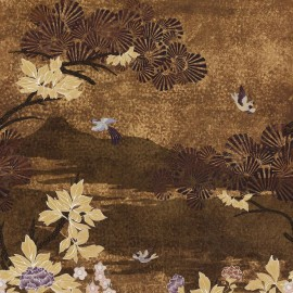 Papier peint panoramique KANSAI de la nouvelle collection aux inspirations asiatique (japon, inde) Archipel de Casamance
