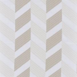 Tissu géométrique pour rideaux ANAPHORE nouvelle collection RITOURNELLE par Casamance