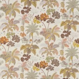 Tissu brodé en lin MALABAR nouvelle collection EMPYREA par Osborne and Little