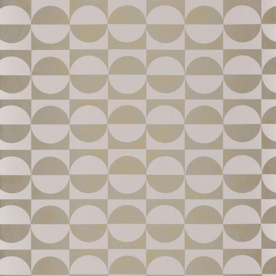 Circles Blanc/Or