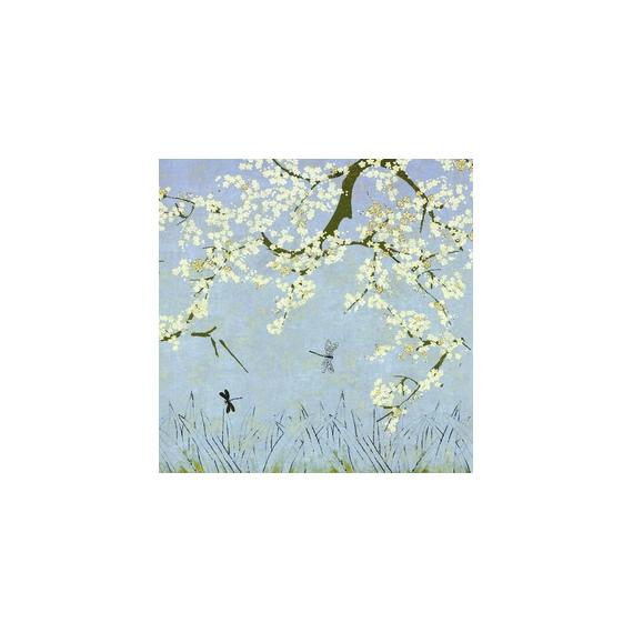 Les cerisiers sauvages Bleu