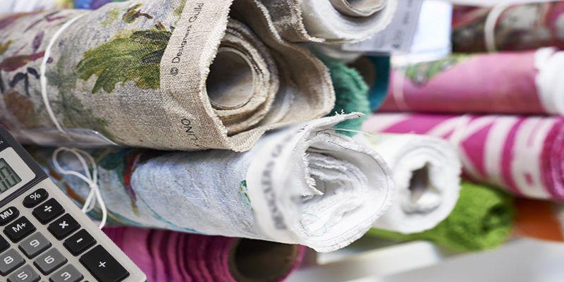 Calculer la quantité de tissus pour rideaux