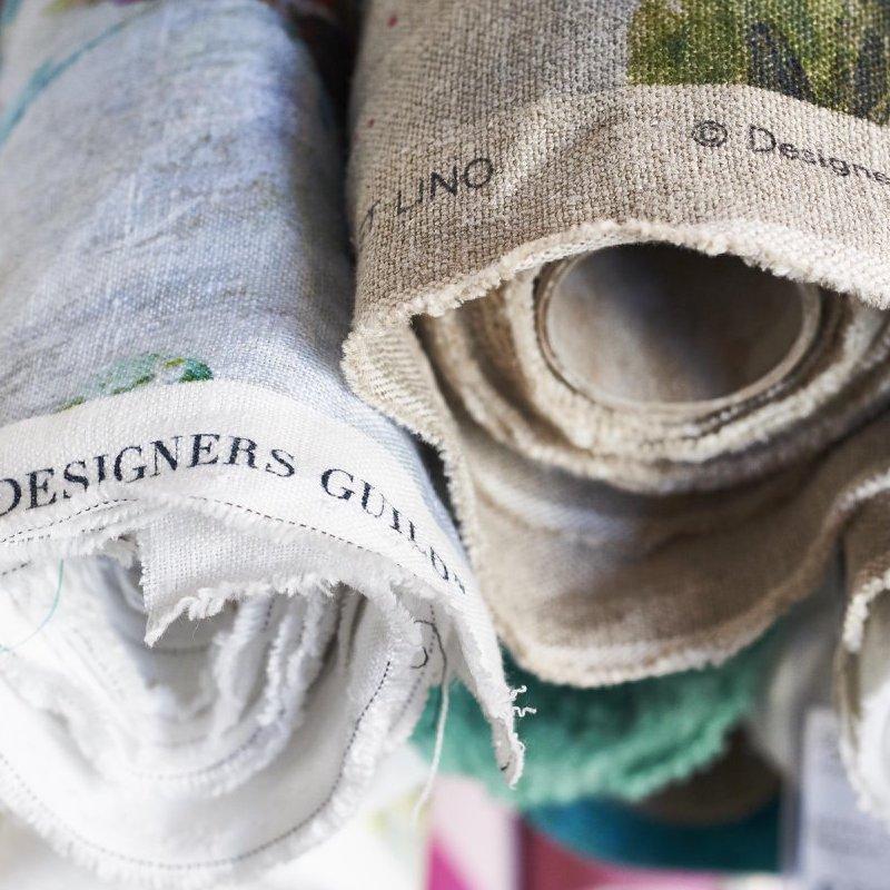 Calculer le métrage de tissu pour des rideaux